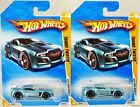 Hot Wheels Torque Twister 2010 New Models #R0921 New in Pack Lt.Blue 3+ 1:64 2pc