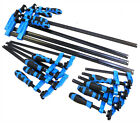 """Blue Grip F Clamps Bar Clamp Quick Slide Wood Clamp 6""""-150mm 12""""-300mm 24""""-600mm"""