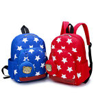Cartoon Star Bear Baby Girls Boys Kids School Backpack Kindergarten Shoulder Bag