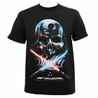 SULLEN ART COLLECTIVE FORCE BADGE STAR WARS TATTOO SKULL T SHIRT RARE SMALL