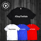 T Shirt CHARITY #StopTheHate Stop The Hate Movement Peace Inspiration Tee