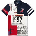 DS NEW Polo Ralph Lauren 1992 Stadium Polo Shirt White Red Navy Limited P Wing