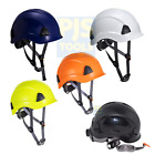 Portwest PS53 working at height safety helmet climbing scaffolding rescue hat