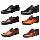 Men's Multi-color Formal Pointy Toe Oxfords Leather Business Shoes US Size 6-12