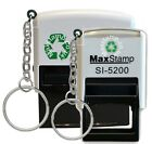 Keyring Custom Self-Inking Rubber Stamps Ideal for Doctors, Nurses, Midwifes etc