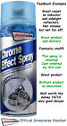 Streetwize Chrome Effect Aerosol Spray Paint High Quality Mirror Finish 400ml