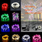 50/100 Led String Fairy Light Multi-color For Christmas Party Wedding Dc 12v Usa