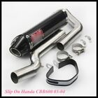 Motorcycle Mid Front Link Tube Exhaust Tail Pipe Slip On Honda CBR600 1000 03-15