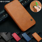 Luxury Flip G-CASE Leather Card Slot Wallet Slim Case Cover For Apple iPhone X