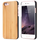 Natural Wooden Wood Bamboo Phone Case Cover for iPhone 8/ X / 7/7 Plus/6/6s Plus