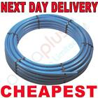 MDPE underground mains cold water mains supply pipe blue alkathene roll 100m 50m