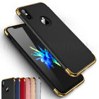 For Apple iPhone (X) Skin feel Slim Hybrid Shockproof Hard Case Back Cover