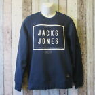 Jack & Jones Mens JJCO Sweatshirt Blue or Grey size S or L (295/449 loc 144) CA