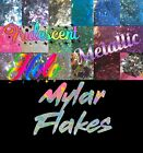 Iridescent Holographic & Metallic Mylar Shred Confetti Glitter Solvent Resistant