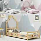 Designer LED Multi Color Light White Faux Leather Low Double / King Bed Frame