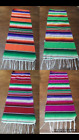 """Mexican Serape Table Runner 81""""X14"""" ,QUINCEANERA ,Saltillo , Party Decorations"""
