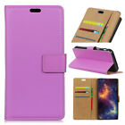 Luxury Leather Wallet Card Stand Case Shockproof Cover For Alcatel Wiko Vodafone
