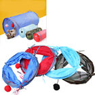 Collapsible Cat Play Tunnel Folding Pet Toy Hideaway Fun Tube Doggy Kittens US