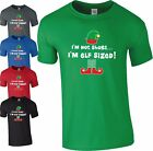 I'm Not Short I'm Elf Sized T Shirt Funny Slogan Christmas Gift Mens Ladies Top