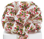 "New Christmas Ribbon, Garland Wired Edge 2-1/2"", Pine Cones Holiday Bow 2-1/2,"