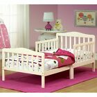 The Orbelle New Uniform Wood Toddler Bed - French Hoary