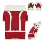 Winter Warm Dog Coat Chihuahua Clothes Pet Puppy Fleece Lined Pet Jacket Apparel