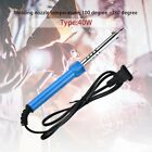 Electric Soldering Iron Solder Welding Gun US Plug Electric Iron Pencil Tip ED
