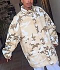 Men's Desert Camouflage 3/4 Jacket 100% Cotton