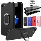 Luxury Shockproof Slim TPU Ring Magnetic Car Holder Case Cover For Cell Phones