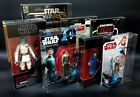 Star Wars Action Figure Display Case - MOC Vintage, Black Series, 40th, TFA, TLJ $2.50 USD on eBay