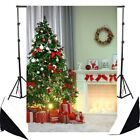 Backdrops 5x7ft cloth Christmas socks tree Drawing Photography Backgrounds 3x5ft