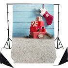 Background Material - Backdrops 5x7ft Cloth Christmas Socks Tree Drawing Photography Backgrounds 3x5ft