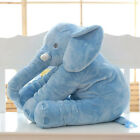Baby Kids Gift Long Nose Elephant Doll Pillow Soft Plush Stuff Toy Lumbar Pillow