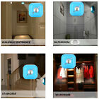 Wall Lamp Light Auto Induction Sensor Control LED Light Bedside Night Light