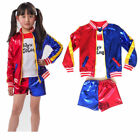 Kyпить Girls Kids Costume Suicide Squad Harley Quinn Fancy Dress Cosplay Costume Outfit на еВаy.соm