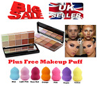 Face Make up Foundation Highlight Concealer Correction Cream Contour Free Puff