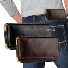 Horizontal Leather Pouch Holster Case Cover with Belt Clip For iPhone 8 / 8 Plus