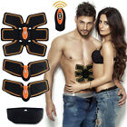 EMS Remote Control Abdominal Muscle Trainer Smart Body Building Fitness Abs USA
