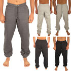 MENS FLEECE SWEAT PANTS JOGGING TRACK JOGGERS TRACKY PANT WARM JOG BOTTOMS GYM