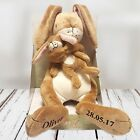 Personalised Guess How Much I Love You Lullaby Hare. Gift/Christening.