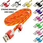 Braided lot USB Charging Charger Cable Cord for iPhone 5 5s 5c 6 6s 6 plus 7 8