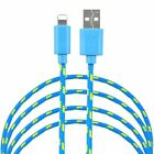 LOT 6 pack 6ft Braided USB Charger Cable for Apple iPhone 5/6/6s/7