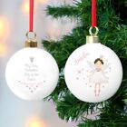 Personalised Fairy Princess Bauble. Gift. Daughter/Niece.