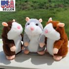 Adorable Toy Mimicry Pet Speak Talking Record Hamster Mouse Plush Kids Toy Gifts