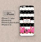 Kate-Spade92929 flower case for apple iphone 5 5s 6 6s 7 7s