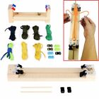 Внешний вид - Parachute Cord Braiding Weaving Jig Wood Bracelet Maker Wristband Craft DIY Tool