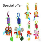 Baby Rattles & Mobiles with Teether Baby Toys Animals Stroller Crib Hanging Doll