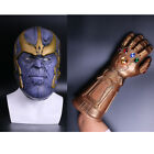 Cosplay Avengers: Infinity War Thanos Mask Infinity Gauntlet Latex Handmade New