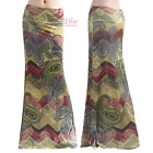 Chevron Zigzag Paisley Floral Sublimation maxi long skirt S/M/L/XL/1XL/2XL/3XL