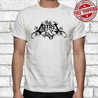 New THE AGONIST Metal Band Logo Men's White T-Shirt Size S to 3XL